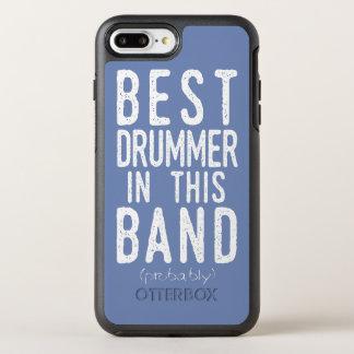 Best Drummer (probably) (wht) OtterBox Symmetry iPhone 8 Plus/7 Plus Case