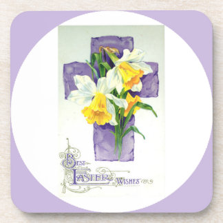 Best Easter Wishes Custom Drink Coaster