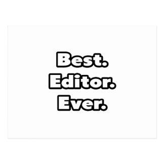 Best. Editor. Ever. Postcard