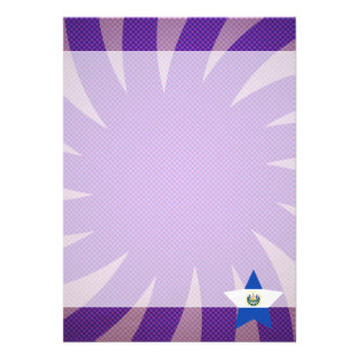 Best El Salvador Flag Design Card