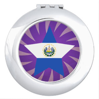 Best El Salvador Flag Design Mirror For Makeup