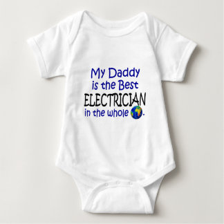 Best Electrician In The World (Daddy) Baby Bodysuit