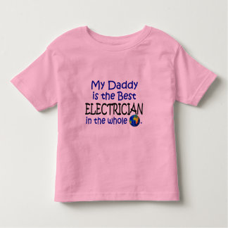 Best Electrician In The World (Daddy) Tee Shirt