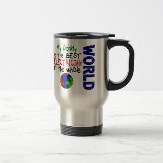 Best Electrician In World 2 (Daddy) Coffee Mugs