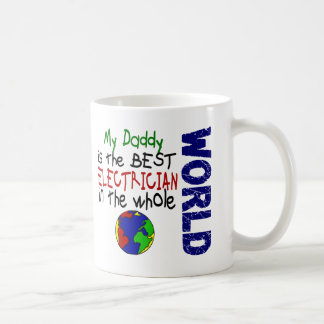 Best Electrician In World 2 (Daddy) Classic White Coffee Mug