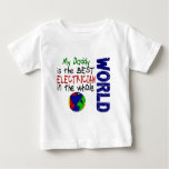 Best Electrician In World 2 (Daddy) T Shirts