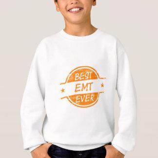 Best EMT Ever Orange Sweatshirt