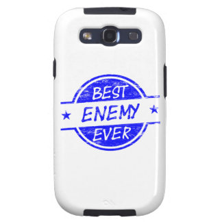 Best Enemy Ever Blue Galaxy SIII Cases