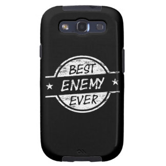 Best Enemy Ever White Galaxy S3 Covers