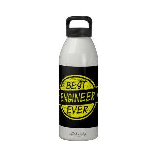 Best Engineer Ever Yellow Drinking Bottles