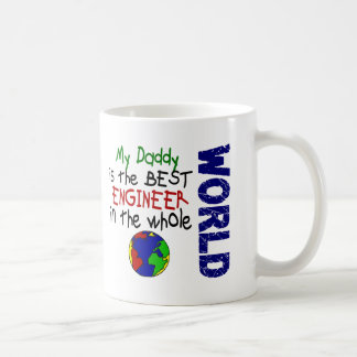 Best Engineer In World 2 (Daddy) Coffee Mugs