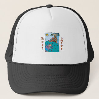 Best Ever Bicycle Fun Design Trucker Hat