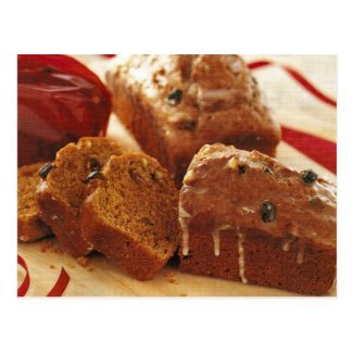 Best Ever Pistachio Pumpkin Bread Recipe Postcard