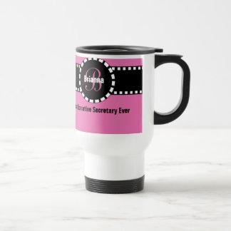 Best EXECUTIVE SECRETARY Ever Custom Name V3 Travel Mug