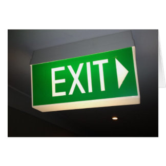 best exit card