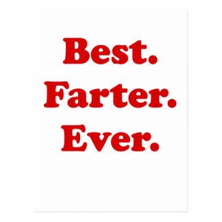 Best Farter Ever Postcard