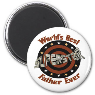 Best Father Ever 2 Inch Round Magnet
