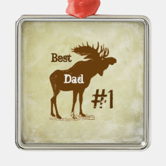 Best Father Moose Award Ornaments