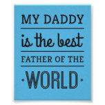 Best Father of The World Poster
