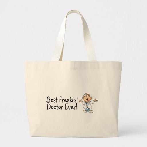 Best Feakin Doctor Ever Jumbo Tote Bag