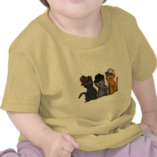 Best Feline Friends Tee Shirts