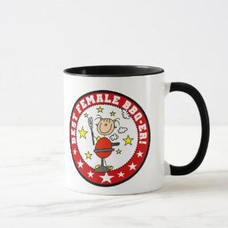 Best Female BBQ-er Mug