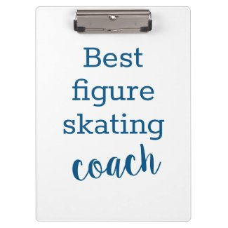 Best figure skating coach gift - clipboard