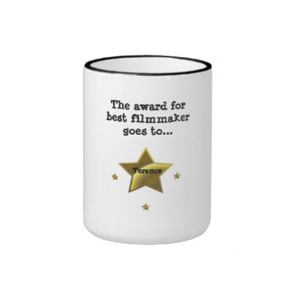 Best Filmmaker Award: Terence Ringer Coffee Mug