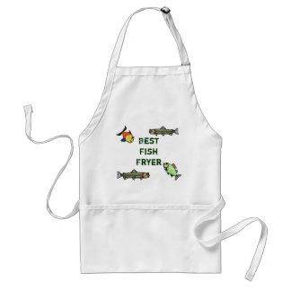 Best Fish Fryer Apron   Customize It!