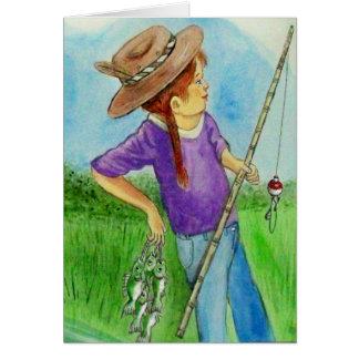 Best Fishing Buddy Card