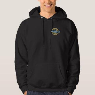 """Best fishing"" trout fishing logo, Hoodie"