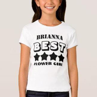 Best FLOWER GIRL Wedding Party Favor V05 T-Shirt