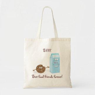 Best Food Friends Forever Bag Budget Tote Bag
