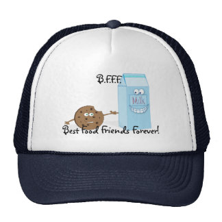 Best Food Friends Forever Hat
