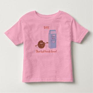 Best Food Friends Forever Kids Ringer T- Shirt
