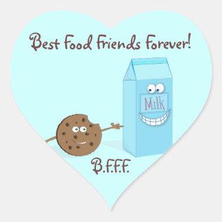 Best Food Friends Forever Sticker