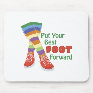 Best Foot Forward Mouse Pad