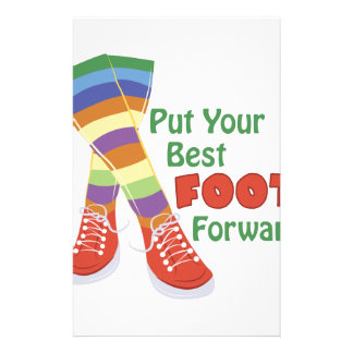 Best Foot Forward Stationery
