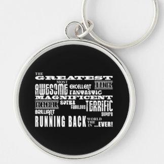 Best Football Running Backs Greatest Running Back Keychains