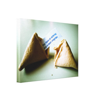 Best Fortune Cookie Ever Stretched Canvas Print