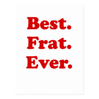 Best Fraternity Ever Postcard