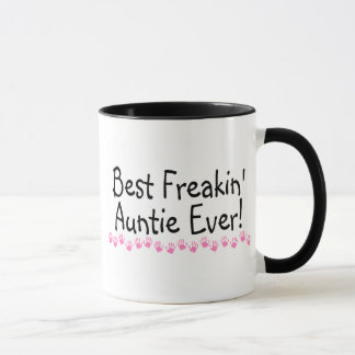 Best Freakin Auntie Ever Mug