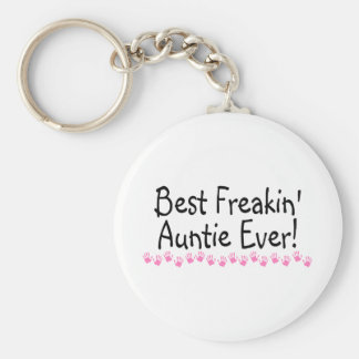 Best Freakin Auntie Every Keychain