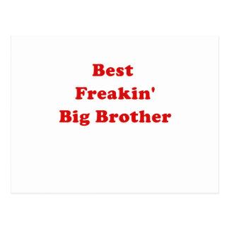 Best Freakin Big Brother Postcard
