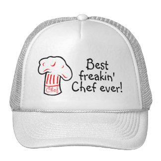 Best Freakin Chef Ever Trucker Hat