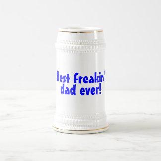 Best Freakin Dad Ever Beer Stein