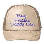 Best Freakin Daddy Ever (Blue) Mesh Hats