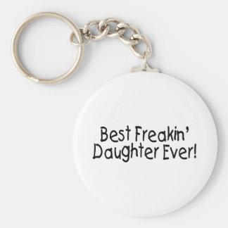 Best Freakin Daughter Ever Keychain