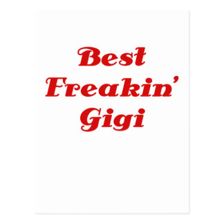 Best Freakin Gigi Postcards