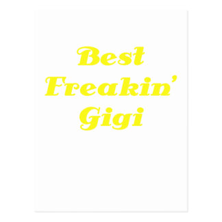 Best Freakin Gigi Postcard